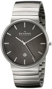 Đồng hồ Skagen Men's SKW6109 Ancher Quartz 3 Hand Date Stainless Steel Silver Watch