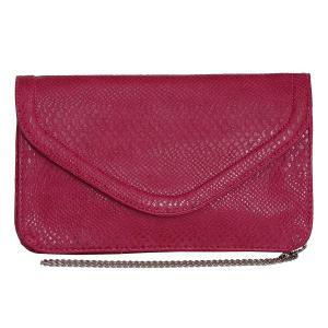 Ví Patzino Fashion Collection, Faux Leather Croco Chic Women's Envelope Clutch