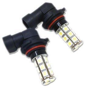Đèn Led Generic LED-18-9006: LED 18 SMDs 9006 6000K (Xenon White) Light Bulbs -One Pair