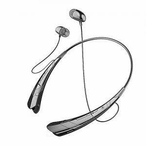 Tai nghe Soundbeats Universal Hbs-760 Wireless Music A2dp Stereo Bluetooth Headset Universal Vibration Neckband Style Headset Earphone Headphone for Cellphones Enabled Bluetooth (Black/black)