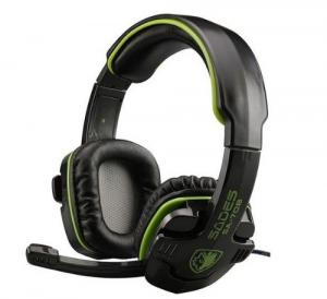 Tai nghe SADES SA-708 Stereo Headset Gaming Headset with Microphone (Green)