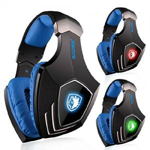 Tai nghe SADES A60 Wired Gaming Headset Retractable Mic 7.1 Surrounding Sound