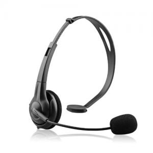 Tai nghe NoiseHush NX70-11825 Crystal Clear Multimedia Headset for Apple iPad, iPad 2/iPhone 3G 3Gs 4 4CDMA 4S/BlackBerry/HTC/Samsung/Motorola - Retail Packaging - Black