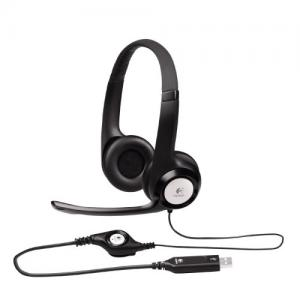 Tai nghe Logitech ClearChat Comfort/USB Headset H390 (Black)