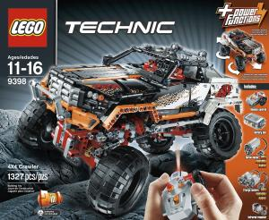 Đồ chơi xếp hình LEGO Technic 9398 4 x 4 Crawler