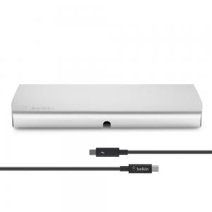 Belkin Thunderbolt Express Dock with 1-Meter Thunderbolt Data Transfer Cable (Compatible with Thunderbolt 2 Technology)