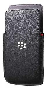 Blackberry ACC-57196-001 Z30 LEATHER POCKET BLACK