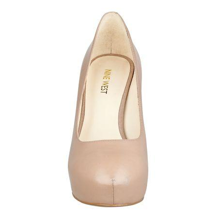 Giày nữ Juliette Platform Heels TAUPE LEATHER