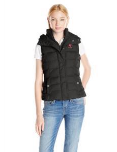 U.S. Polo Assn. Women's Classic Hooded Puffer Vest