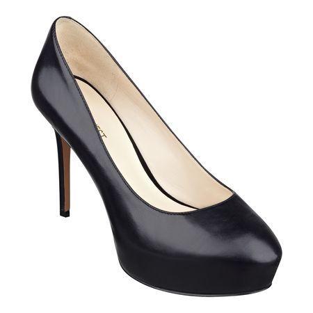 Giày nữ Juliette Platform Heels Black