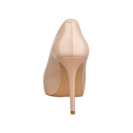 Giày nữ Juliette Platform Heels TAUPE LEATHER