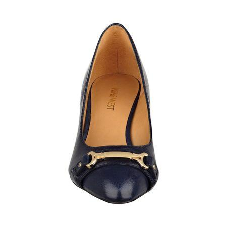 Giày nữ Teague Pointy Toe Wedges NAVY LEATHER
