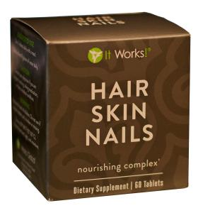 It Works! Hair Skin Nails Nourishing Complex Dietary Supplement - 60 Tablets