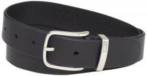 Dây lưng Levi's Men's Levis 35MM Bridle Belt With Metal Loop Black