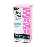 Neutrogena Wave Deep Clean Foaming Pads, Original, Refill 30 ea