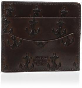 Ví Jack Spade Men's Embossed Anchor Bill Flap Wallet