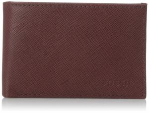 Ví Fossil Men's Caleb Coin Pocket Bifold Red