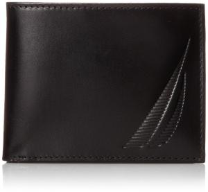 Ví Nautica Men's Passcase with Embosed Sailboat Logo