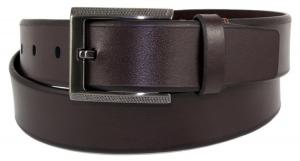 Dây lưng Tumi Mens Brown Leather Belt Heavy Duty