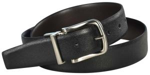 Dây lưng Nike Golf Men's Reversible Leather Belt-Black/Brown-36