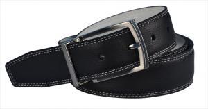 Dây lưng Nike Golf Men's Reversible Leather Belt Black/White