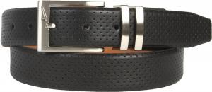 Dây lưng Nike Men's Belt Pin Dot Embossed Premium Black