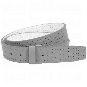 Dây lưng Nike Custom Build Belts Perforated Reversible Strap Cut-To-Fit Grey/White
