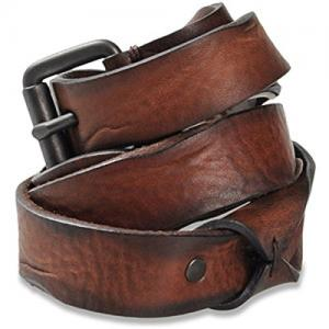 Dây lưng Diesel Men's 1-Barti Leather Belt Brown