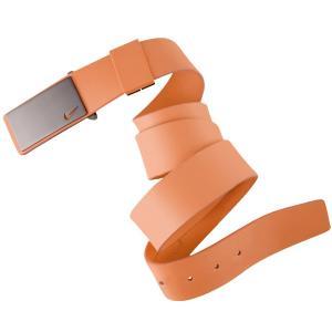 Dây lưng Nike Golf Men's Sleek Plaque Leather Golf Belt - One Size - Turf Orange