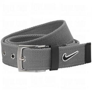 Dây lưng Nike Mens Swoosh Patch Web Belts Large Grey