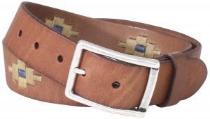 Dây lưng Trafalgar Men's Casual Belt With Thread Design