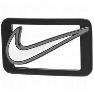 Dây lưng Nike Custom Build Belts Swoosh Enamel Buckle N/A Stadium Grey/White