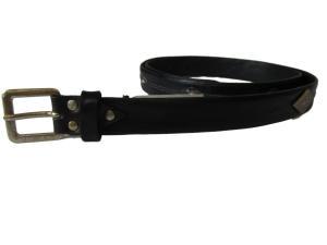 Dây lưng Diesel Men's Bottu Leather Belt Black