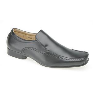 Giày Goor Mens Leather Slip-On Tramline Formal Loafer Shoes
