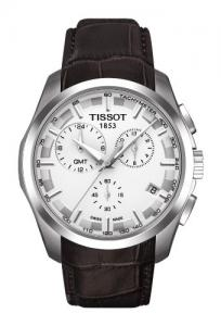 Đồng hồ Tissot Couturier GMT White Dial Mens Watch T0354391603100