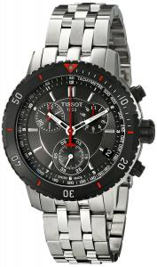 Đồng hồ Tissot Men's T067.417.21.051.00 T-Sport Chronograph Metalic Textured Dial Watch