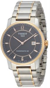 Đồng hồ Tissot Men's T0874075506700 T-Classic Analog Display Swiss Automatic Silver Watch