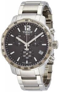 Đồng hồ Tissot Quickster Chronograph Anthracite Dial Stainless Steel Mens Watch T0954171106700