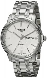 Đồng hồ Tissot Men's T0654301103100 Automatic III Analog Display Swiss Automatic Silver Watch