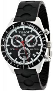 Đồng hồ Tissot Men's T0444172705100 Prs-516 Black Dial Chronograph Rubber Strap Watch