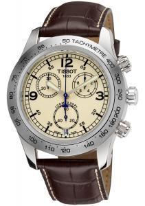Đồng hồ Tissot Men's TIST36131672 V-8 Ivory Dial Watch