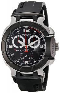 Đồng hồ Tissot Men's T0484172705700 T-Race Black Chronograph Dial Watch