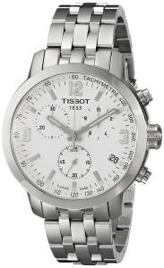 Đồng hồ Tissot Men's T0554171101700 PRC 200 Analog Display Swiss Quartz Silver Watch