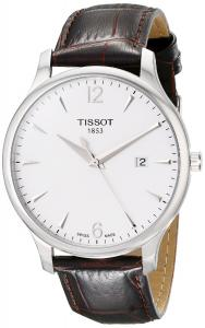 Đồng hồ Tissot Men's T063.610.16.037.00 Silver Dial Tradition Watch