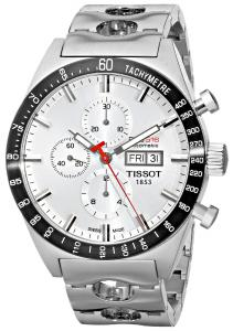 Đồng hồ Tissot Men's T0446142103100 T-Sport PRS516 Automatic Silver Day Date Dial Watch