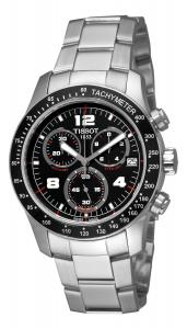 Đồng hồ Tissot Men's T0394171105700 Tissot V8 Black Chronograph Dial Watch