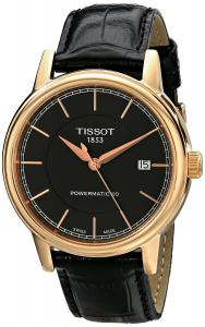 Đồng hồ Tissot Men's T0854073606100 Carson Analog Display Swiss Automatic Brown Watch