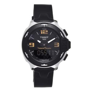Đồng hồ Tissot T-Race Touch Analog Digital Dial Black Synthetic Strap Mens Watch T0814201705700