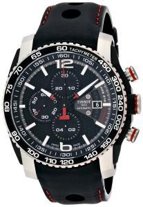 Đồng hồ Tissot PRS 516 Extreme Automatic Chronograph Black Dial Black Rubber Mens Watch T0794272605700