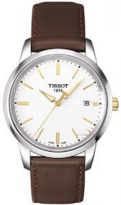 Đồng hồ Tissot Classic Dream White Quartz Leather Men's watch #T033.410.26.011.01